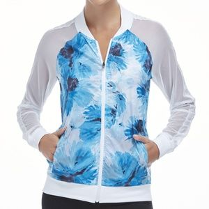 Fabletics Atlanta Jacket Tropical Bloom Print